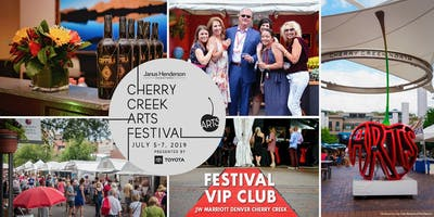 FESTIVAL VIP CLUB, Cherry Creek Arts Festival