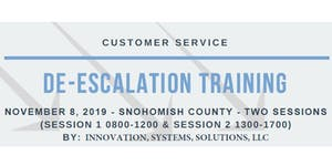 De-Escalation Training: For Frontline Service Provider...
