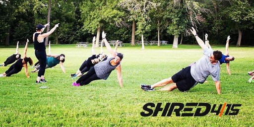 Outdoor Workout - Shred415 East Side at Lake Park