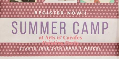 last week of Summer Camp - Travel tickets