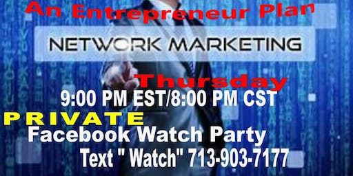 Why Network Marketing Business-Watch Party Dallas