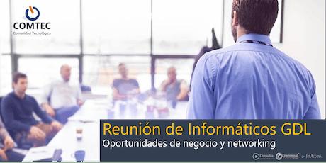 Reunión de Informáticos GDL - Agosto boletos
