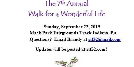 7th Annual Walk for a Wonderful Life tickets