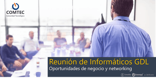 Reunión de Informáticos GDL - Noviembre