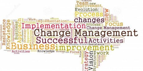 Managing Change: Why? Overcoming Resistance, Planning & Execution tickets