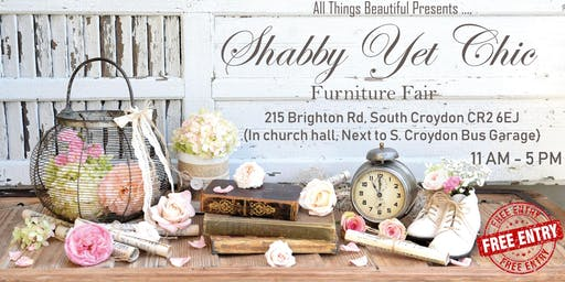 The Shabby yet Chic Furniture Fair