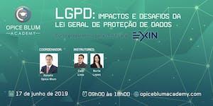 Impactos e desafios da Lei Geral de Proteção de Dados...