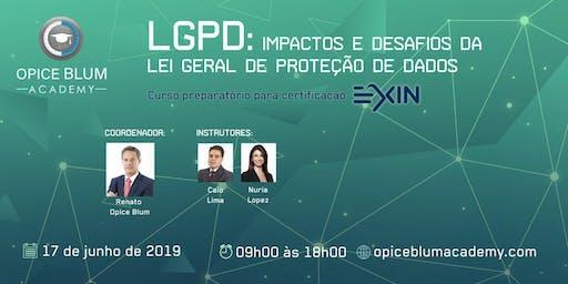 Impactos e desafios da Lei Geral de Proteção de Dados (LGPD)