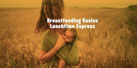 Breastfeeding Basics Luchtime Express tickets