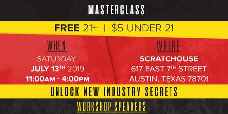 Major Clout Music Masterclass  *(FREE SEMINAR)* tickets