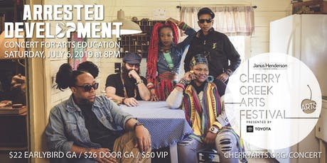 Arrested Development, Concert for Arts Education tickets