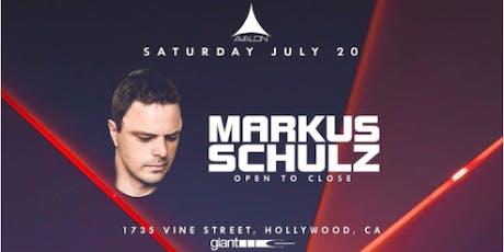 Avalon Presents: Markus Schulz tickets