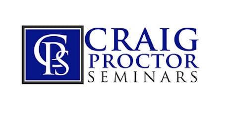 Craig Proctor Seminar - Phoenix tickets