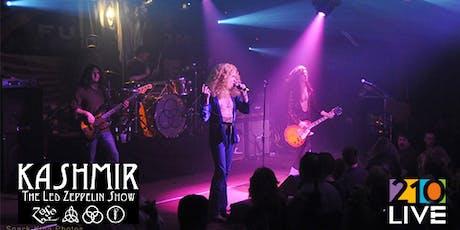 Kashmir Led Zeppelin Tribute at 210 Live tickets