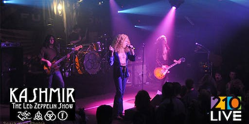 Kashmir Led Zeppelin Tribute at 210 Live