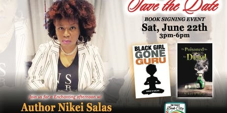 An Enchanting Afternoon w/Author Nikei Salas @Detroit Book City... tickets