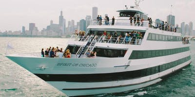 All White POP Party Cruise aboard the SPIRIT OF CHICAGO