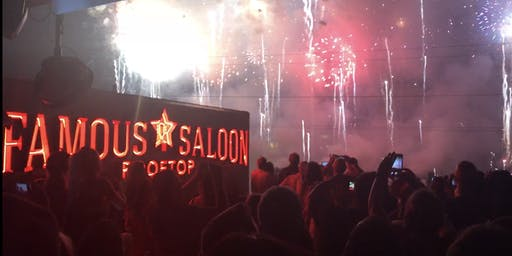 Famous Saloon's 4th of July Rooftop Party