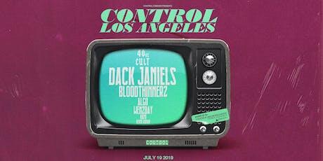 Control Presents: 40oz Cult:  Dack Janiels tickets