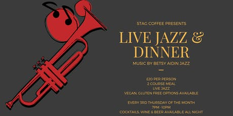 Live Jazz & Dinner @ Stag tickets