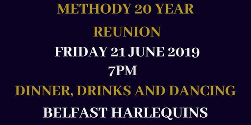 Methody 20 Year Reunion