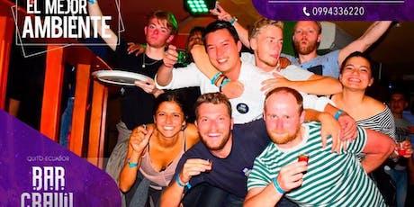 Bar Crawl Quito entradas