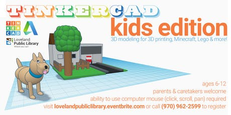 Tinkercad: Kids Edition! tickets