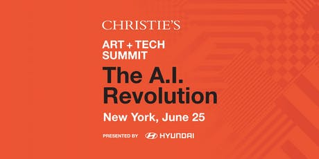 Christie's Art+Tech Summit: The A.I. Revolution tickets