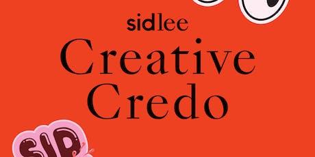 TALK: Sid Lee x Creative Credo  tickets