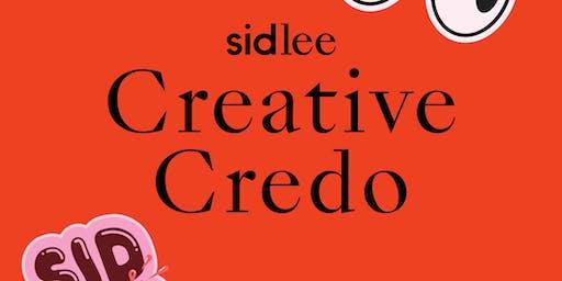 TALK: Sid Lee x Creative Credo