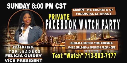Entrepreneur Business FaceBook Watch Party -Galveston