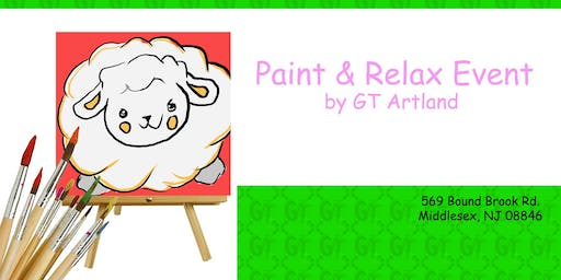 Sheep Paint Session BYOB