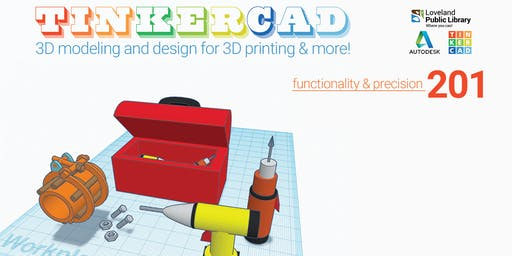 Tinkercad: 3D Modeling 201 for Teens & Adults