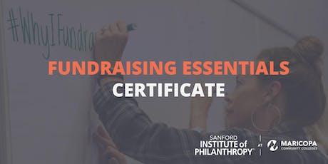Fundraising Essentials Certificate tickets
