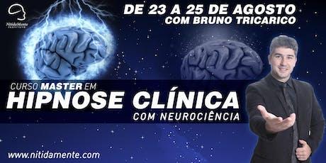 Curso Master em Hipnose  Clínica - NitidaMente Instituto ingressos