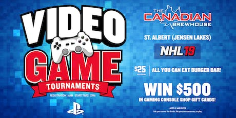 PS4 NHL 19 Tournament (St. Albert Jensen Lakes) tickets