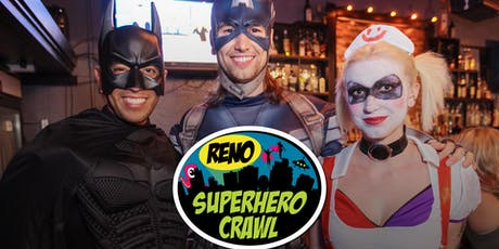 Reno Superhero Crawl 2019 tickets