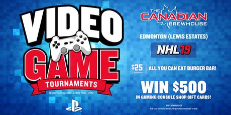 PS4 NHL 19 Tournament (Edmonton Lewis Estates) tickets