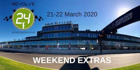 Revolve24 Australia 2020: Weekend Extras tickets