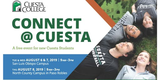 Connect@Cuesta (New Student Orientation)