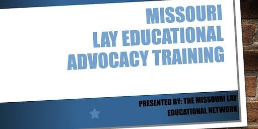 Missouri Lay Educational Advocacy Training-Kansas City