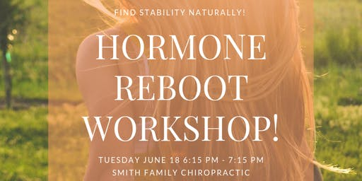 Hormone Reboot: Find Stability Naturally