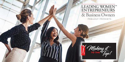 """THE LWE LEADERSHIP LOUNGE IN SHORT HILLS """"MAKING IT TO THE TOP"""" EVENT!"""