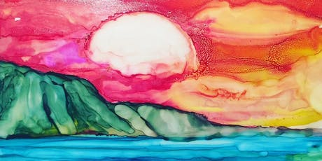 Paint with Alcohol ink Landscapes tickets