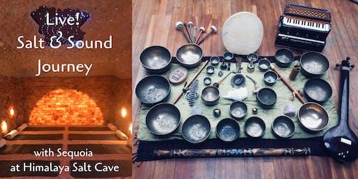 Salt Cave Sound Journey with Sequoia