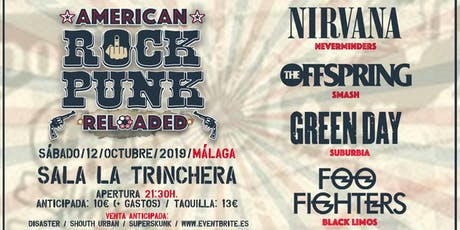 Festival de Tributos AMERICAN ROCK PUNK (Málaga) tickets