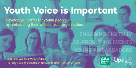 Youth Voice Training Newcastle tickets