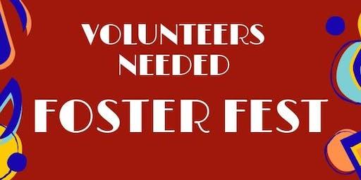 Volunteering - Foster Festival
