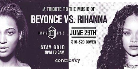 Beyonce Vs Rihanna tickets
