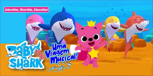 """BABY SHARK NA ZONA LESTE! Desconto para """"Baby Doo Doo Doo Shark, uma viagem musical"""" no Teatro Omni Corinthians"""